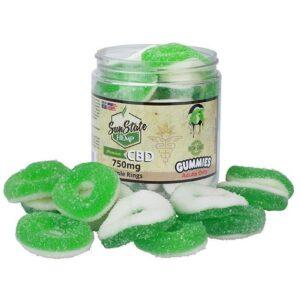 CBD Infused Apple Ring Gummies