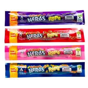 Medicated Nerds Rope – 400MG THC